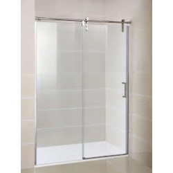 Mampara de ducha gme 100 cm moving frontal acero inox