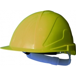 Casco de obra abs con regulacion txr amarillo