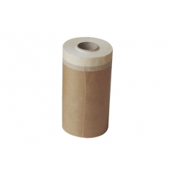 Papel con cinta adhesiva super kraft 10cm x 45mts
