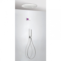 Termostatica kit ducha electronico tres exclusive study shower technology cromo 092.865.55