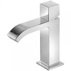 Monomando lavabo tres cuadro caÑo cascada volante 169 mm 006.101.02