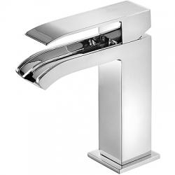 Monomando cuadro tres lavabo cascada maneta 159 mm cromado 00611001