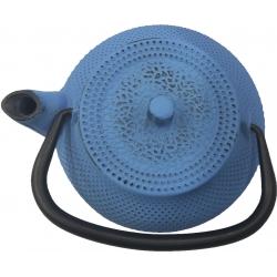 Tetera de hierro colado vier 0.34 l azul