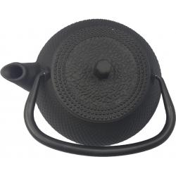 Tetera de hierro colado vier 0.60 l negra