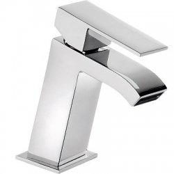 Monomando cuadro tres lavabo cascada maneta cromado 00620101