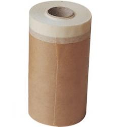 Papel con cinta adhesiva super kraft 30 cm x 45 m