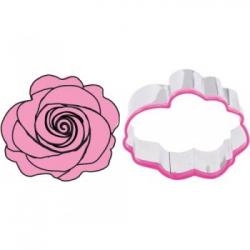 Cortapastas rosa con texturizador