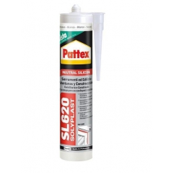 Silicona neutra sl620 pattex 300 ml transparente