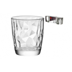 Vaso diamond 30 cl 3 unidades tensionado