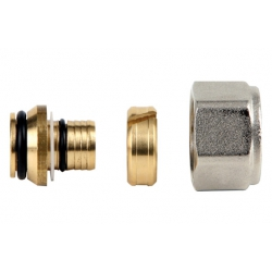 Racor compresion p/tubo multi