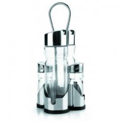 Aceitera vinagrera lacor basic 4 piezas