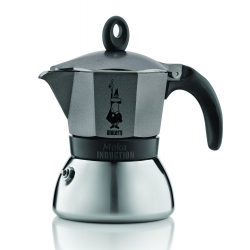 Cafetera moka induction alum/inox