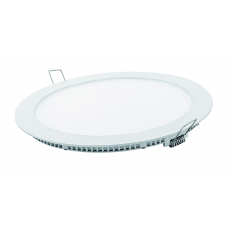Downlight led matel 18 w 1700 lumenes empotrar redondo blanco