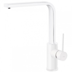 Monomando cocina tres exclusive vertical 310 mm blanco mate 062.435.bm