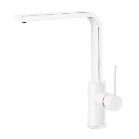 Monomando fregadera tres exclusive vertical 310 mm blanco mate 062.435.bm