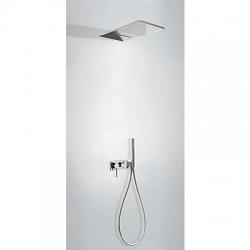 Monomando kit ducha tres exclusive 3 vias empotrado cromo 210.273.01