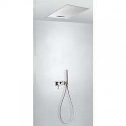 Monomando kit ducha tres exclusive 3 vias empotrado cromo 210.273.03
