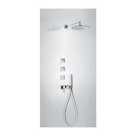 Monomando kit ducha tres exclusive 3 vias empotrado 210.273.03