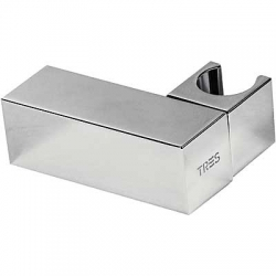 Soporte ducha tres orientable cuadrado cromo 1.07.839