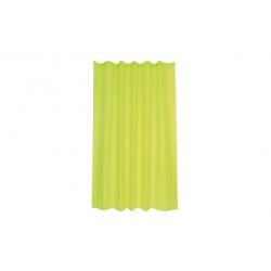 Cortina de baño poliester intense verde