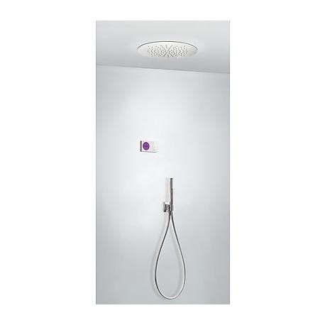Kit termostatico ducha electronico tres exclusive shower technology cromo 092.865.83