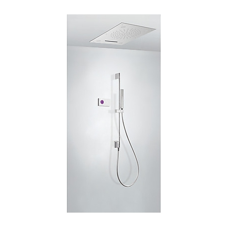 Kit termostatico baÑera electronico tres exclusive shower technology cromo 092.865.73