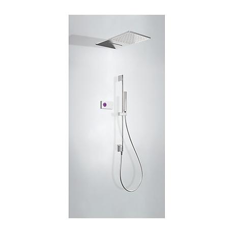 Kit termostatico ducha electronico tres exclusive shower technology cromo 092.863.05