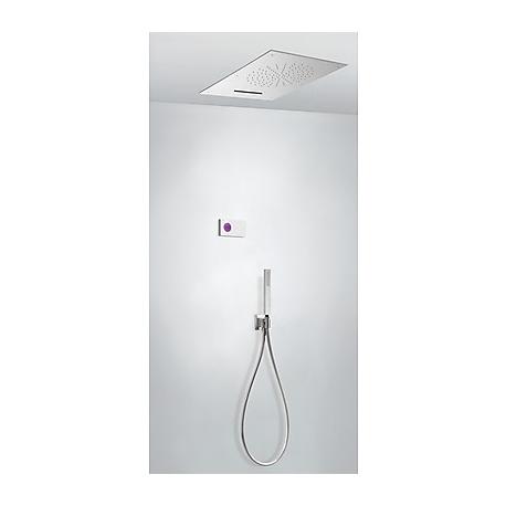 Kit termostatico ducha electronico tres exclusive shower technology cromo 092.863.02