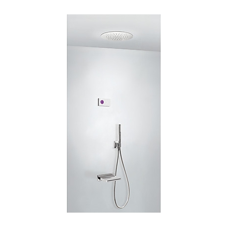 Kit termostatico baÑera electronico tres exclusive shower technology cromo 092.863.19