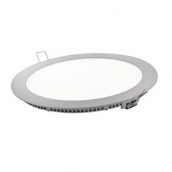 Downlight led matel 6w luz natural plata