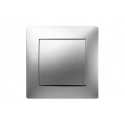 Pulsador famatel habitat15 aluminio
