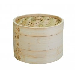 Vaporera de bambu 20 cm