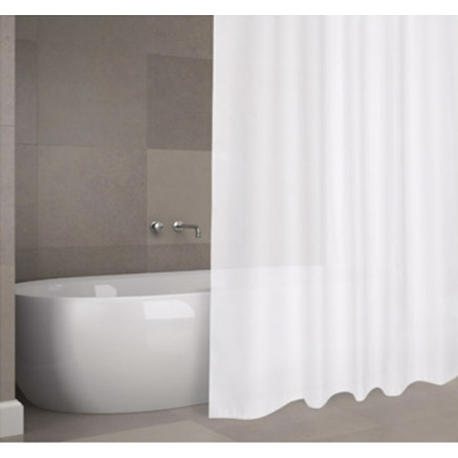Cortina de baño h2o poliester soul 1,8x2m blanco