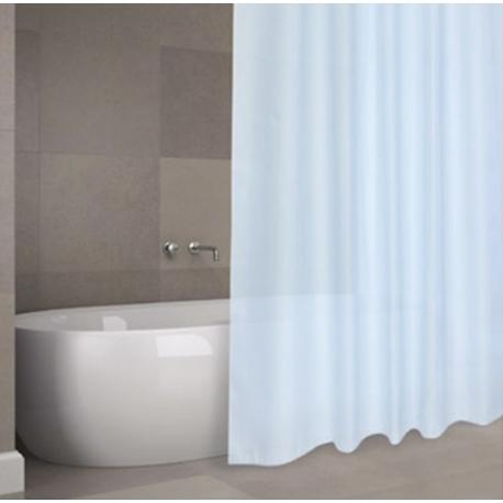 Cortina de baño h2o poliester soul azul 1,8x2m