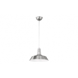 Lampara colgante trio lighting will niquel mate