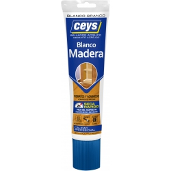 Sellador acrilico madera 125ml blanco