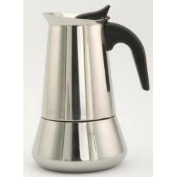 Cafetera inox orbegozo 4 tazas kfi 460