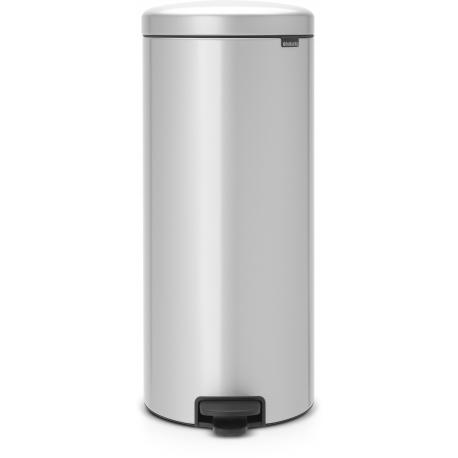 Cubo de basura brabantia 30 l gris newicon