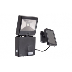 Kit solar + proyector led c/detector movimiento