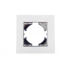 Marco 4 elementos cristal onlex blanca horizontal