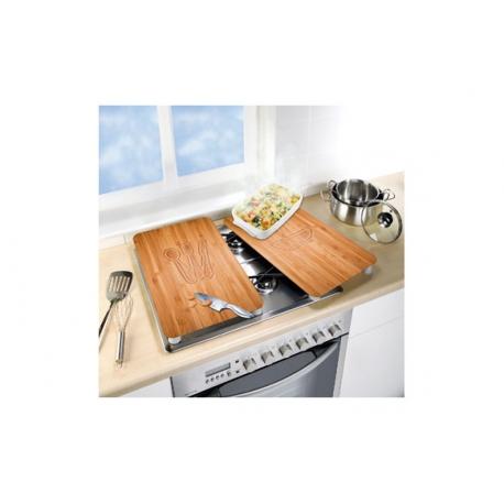 Tabla vidrio cocina (2 un)