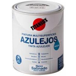 Esmalte azulejos al agua blanco satinado 750 ml