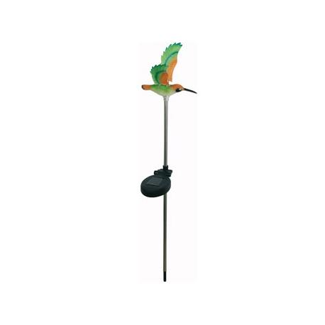 Baliza solar decorativa colibri