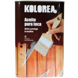 Aceite de teca 5 l xylazel kolorea incoloro