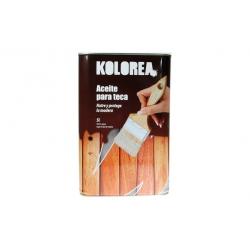 Aceite de teca 5 l xylazel kolorea teca