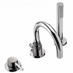 Monomando study tres ducha empotrado maneta cromado 26217790