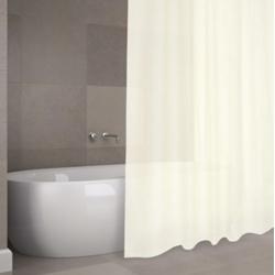 Cortina de baño h2o poliester soul 1,8x2m beig