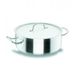 Cacerola lacor chef classic 24 cm con tapa