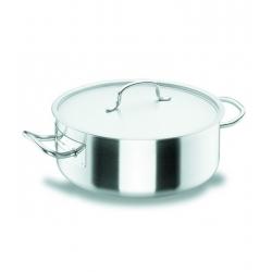 Cacerola lacor chef classic 28 cm con tapa