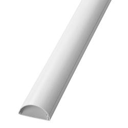 Canaleta semicircular 16x8 2 metros saet 94 blanco